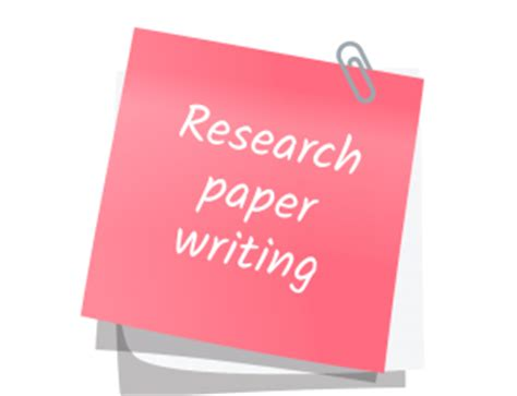 Research paper and essay